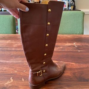 Micheal Kors Leather Boots
